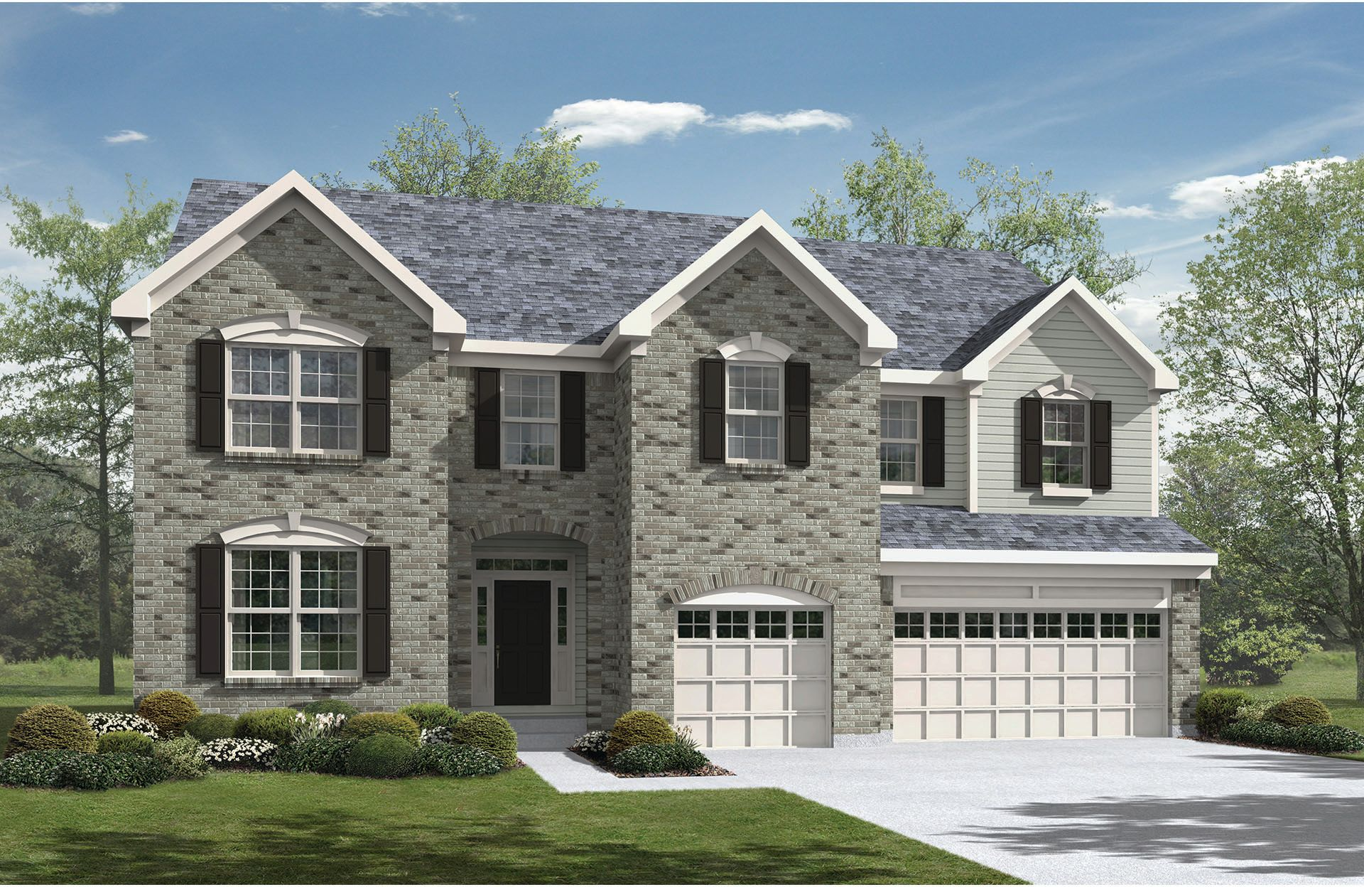 Jacoby - West  Hampton: North Royalton, OH - Drees Homes