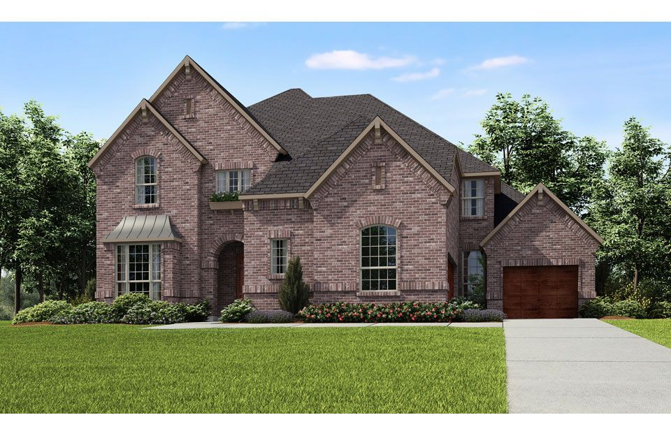 Oakley - Willow Ridge: Prosper, TX - Drees Custom Homes