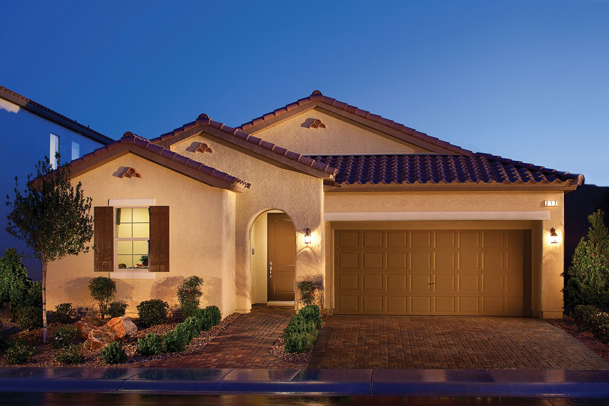 Tuscany residential village new homes in henderson nv by Pics of new homes
