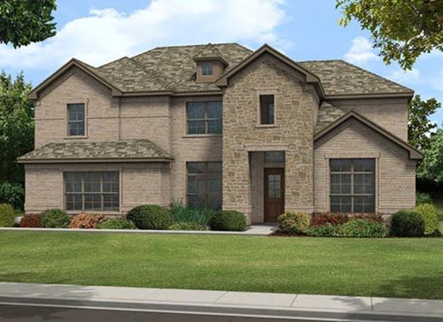 Willow Ridge Estates by Dunhill Homes in Fort Worth Texas