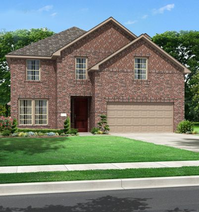 Lakes of River Trails by Dunhill Homes in Fort Worth Texas