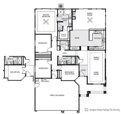 The Parada Floor Plan