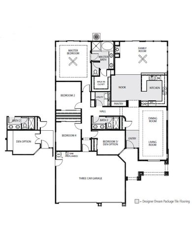 The Parada Floor Plan