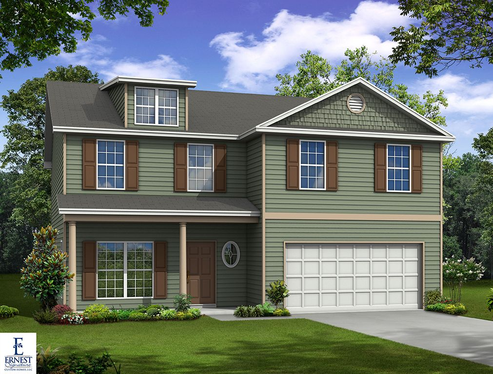 Ernest signature custom homes sweetwater station for Custom home builders savannah ga