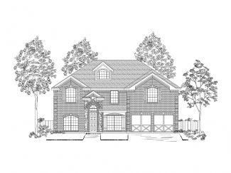 Single Family for Sale at Larkspur Ii At Oakmont - Hillcrest W/Media Ardglass Trail Denton, Texas 76210 United States