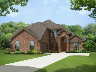Brighton Front Swing - Winterhaven Estates: Cedar Hill, TX - First Texas Homes