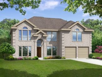 Front Entry - Stonehaven - Trails of Glenwood: Plano, TX - First Texas Homes