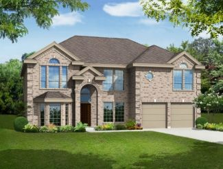 Front Entry - Hillcrest w/Media - Trails of Glenwood: Plano, TX - First Texas Homes