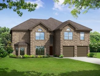Brentwood II w/Media - Myers Meadow: Garland, TX - First Texas Homes