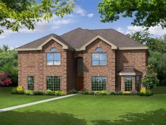 Brentwood II w/Media - Canterbury Hills at Trophy Club: Trophy Club, TX - First Texas Homes