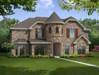 Brentwood II w/Media - The Highlands at Trophy Club: Trophy Club, TX - First Texas Homes