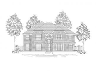 Ridgeview at Panther Creek by First Texas Homes in Dallas Texas