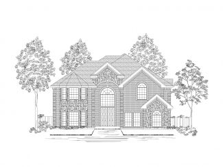 Village at Cross Roads by First Texas Homes in Dallas Texas