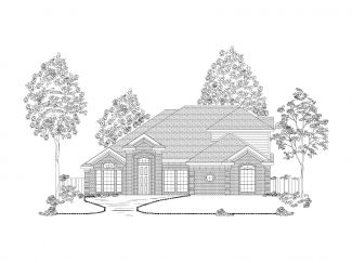 Llano Springs by First Texas Homes in Fort Worth Texas