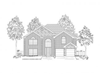 Monticello - The Meadows at Daniel Farms: Desoto, TX - First Texas Homes