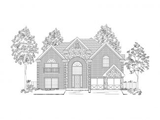 High Hawk at Martin's Meadow by First Texas Homes in Dallas Texas