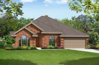 Seville 2323 - Garden Heights: Mansfield, TX - First Texas Homes