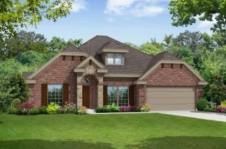 Seville 2500 - Winterhaven Estates: Cedar Hill, TX - First Texas Homes