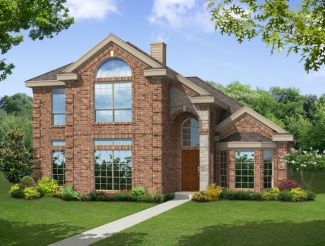 Rear Entry - Brittany R - Trails of Glenwood: Plano, TX - First Texas Homes