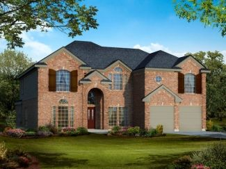 60' lots - Hillcrest w/Media - Heron's Bay Estates: Garland, TX - Gallery Custom Homes