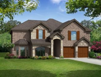 70' lots - Brentwood II w/Media - Heron's Bay Estates: Garland, TX - Gallery Custom Homes