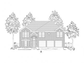 70' lots - Boston w/Media - Heron's Bay Estates: Garland, TX - Gallery Custom Homes