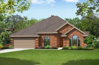 Seville 2428 - Summer Creek South: Fort Worth, TX - First Texas Homes