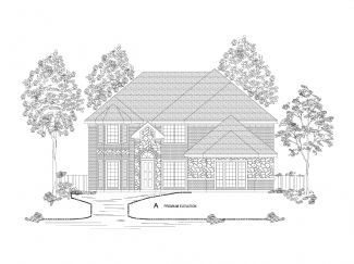 70' lots - Riverchase - Heron's Bay Estates: Garland, TX - Gallery Custom Homes