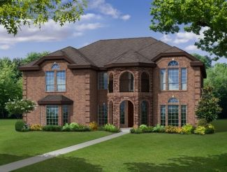 Rear Entry - Newport R - Trails of Glenwood: Plano, TX - First Texas Homes