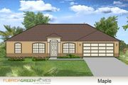 Maple - Florida Green Homes: Palm Coast, FL - Florida Green Homes