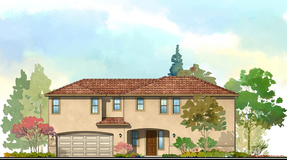 Single Family for Sale at The Groves At Falling Leaf - The Pine 2517 Albatros Drive Modesto, California 95355 United States