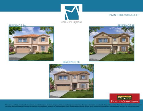 house for sale in Madison Square by Frontier Communities