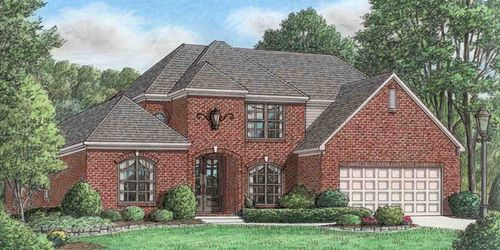 Castle Rock by Grant New Homes in Memphis Tennessee