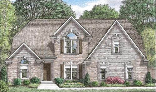 Rivercrest by Grant New Homes in Memphis Tennessee