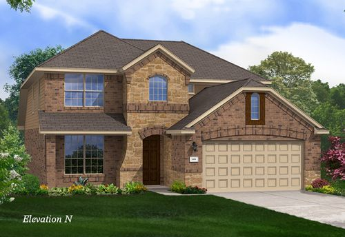 Emory Farms by Gehan Homes in Austin Texas