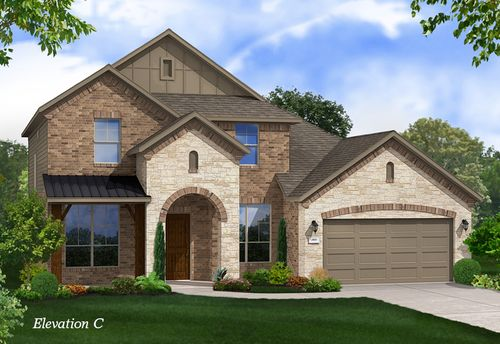 The Commons at Rowe Lane by Gehan Homes in Austin Texas