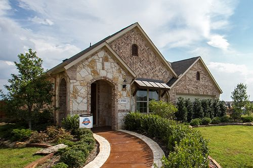 The Enclave at Lakeview by Gehan Homes in Dallas Texas
