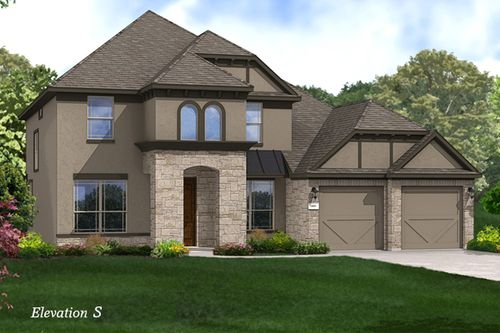 Villas at Belle Creek by Gehan Homes in Dallas Texas