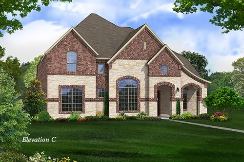 Saddle Creek by Gehan Homes in Dallas Texas