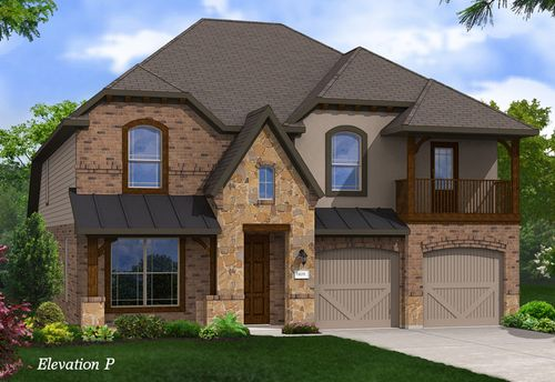 Belmont Woods by Gehan Homes in Dallas Texas