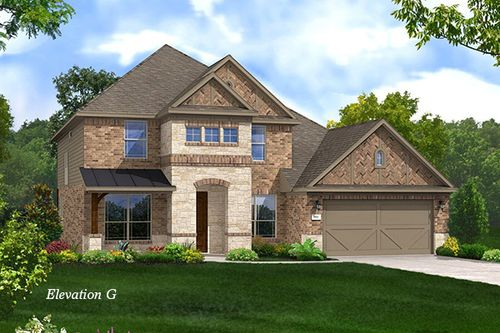 Enclave of Hickory Creek by Gehan Homes in Fort Worth Texas