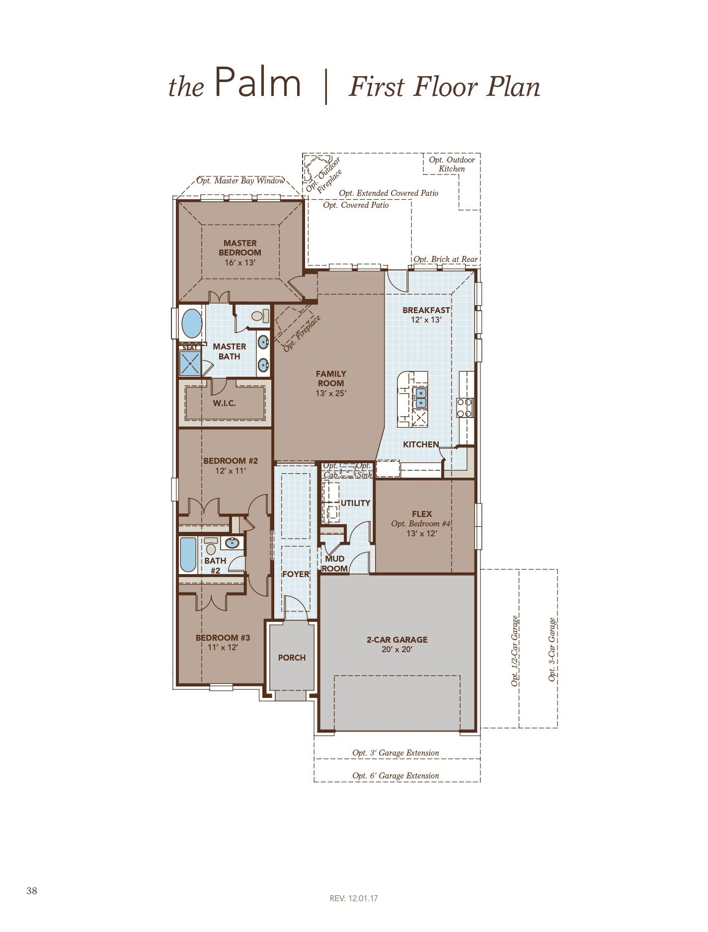Palm First Floor Plan