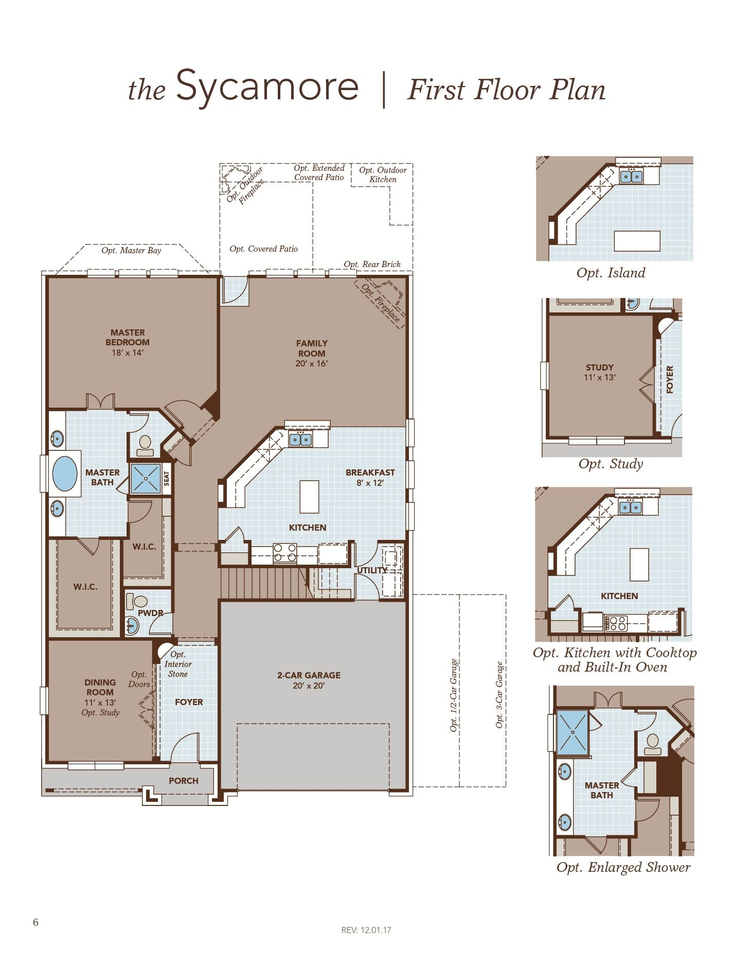 Sycamore First Floor Plan