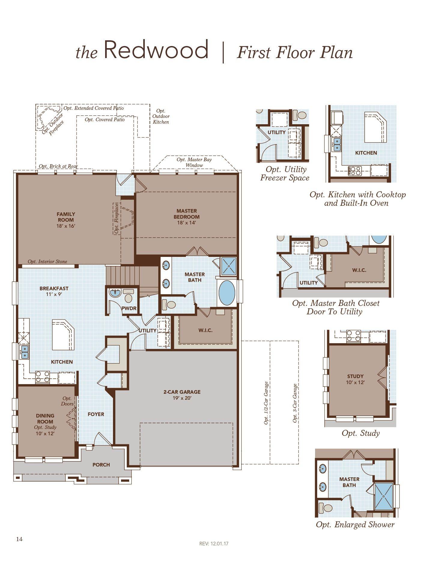 Redwood First Floor Plan