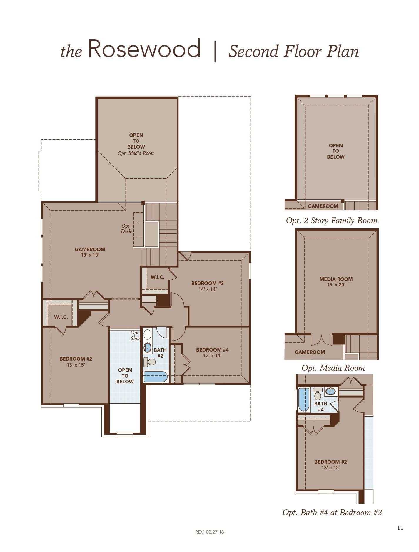 Rosewood Floor Plan