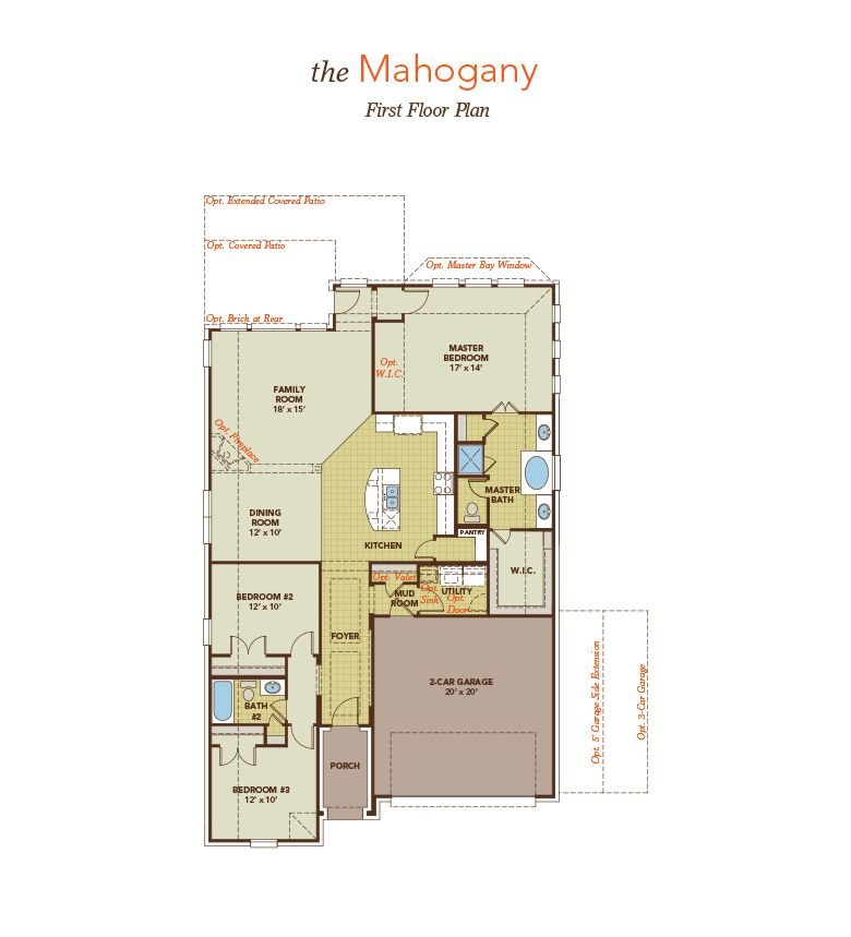 Mi homes floor plans cincinnati home plan Michigan home builders floor plans