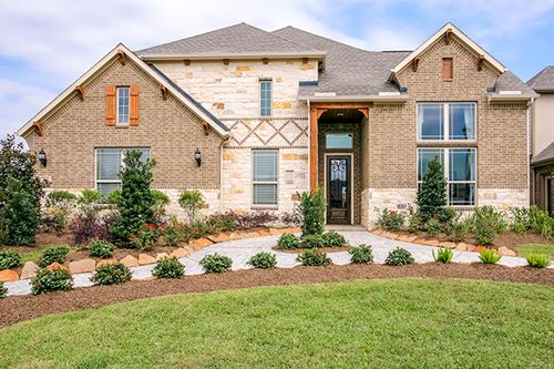 Hawks Landing Classic by Gehan Homes in Houston Texas
