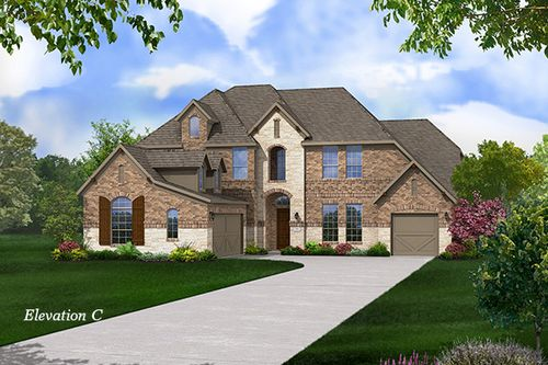 The Reserve at Benders Landing Estates by Gehan Homes in Houston Texas