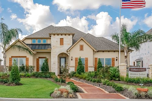 Hidden Lakes Classic by Gehan Homes in Houston Texas
