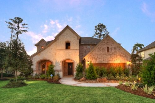 Inverness Estates Classic by Gehan Homes in Houston Texas